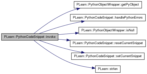 PLearn: PLearn::PythonCodeSnippet Class Reference